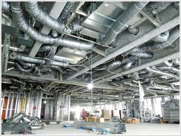 設備(空調・衛生)施工管理イメージ