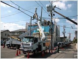 電気通信設備施工管理イメージ
